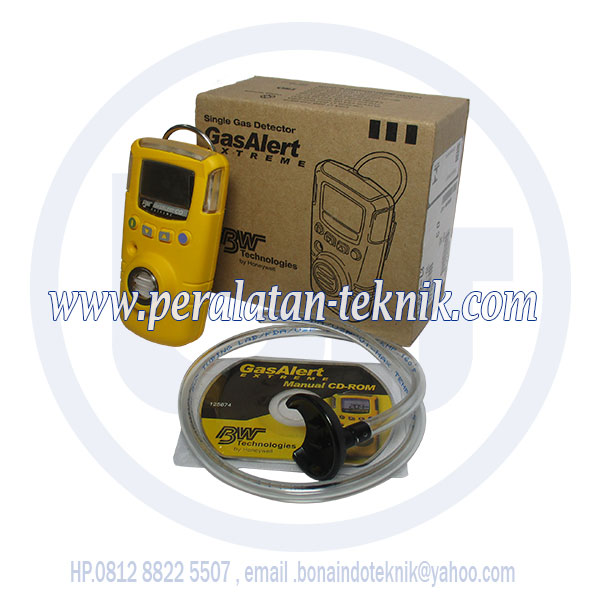 Gas Alert Extreme Single CO , Jual Gas Detector Alert Extreme Bw