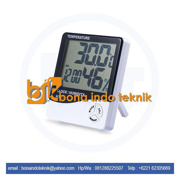 Jual Thermo Hygrometer HTC-1 | Alat Ukur Suhu Ruangan HTC-1
