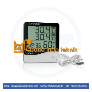 Jual Thermo Hygrometer HTC-2 | Alat Pengukur Suhu Ruangan HTC-2