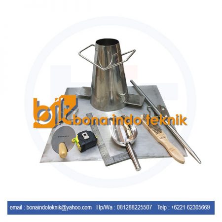 Jual Slump Test Beton | Slump Test Stainless Steel | Slump Test set