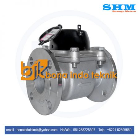 SHM Water Meter Stainless Steel 2 Inch