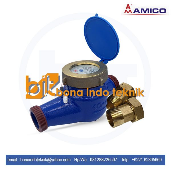 Water Meter Amico LXSG-40E | Amico Water Meter 1 1/2 Inch