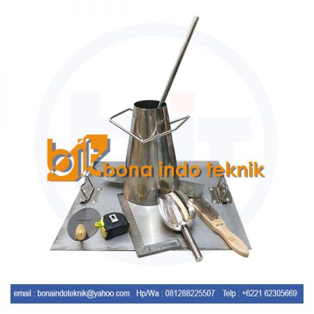 Slump Test Set | Slump Test Set Bahan Stainless Steel | Kerucut Abrams