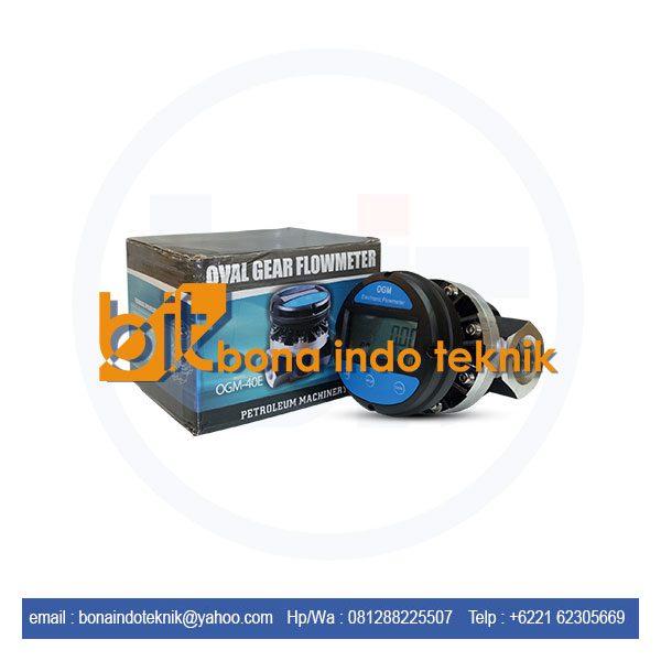 Jual Electronic Flow Meter OGM-40E | Digital Oval Gear Meter ( OGM )