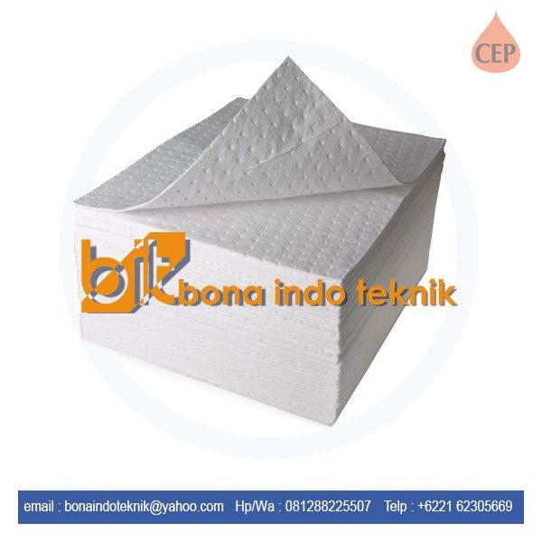 Jual Oil Absorbent Pad CEP | Oil Absorbent Pad BP 100 | Absorbent Pad