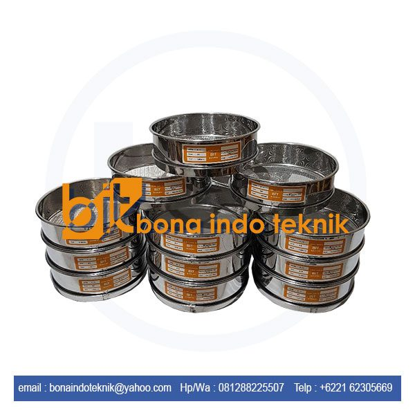 Jual Sieve Test Analysis | Sieve Analysis | Saringan Mesh | Sieve Test