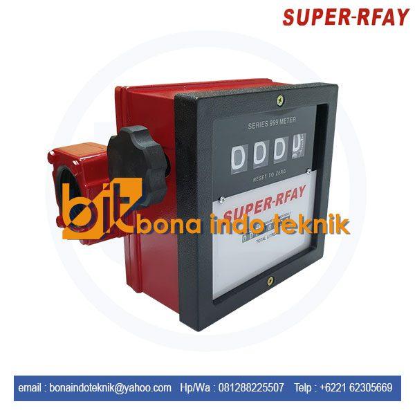 Flow Meter Super Rfay | Flow Meter Super Rfay 1.5 Inch 4 Digit