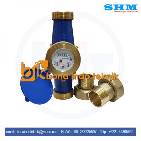 SHM Multi Jet Brass Flow Meter For Cold Water