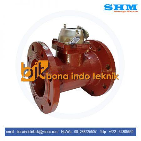 Jual SHM Water Meter 6 Inch Air Limbah | Water Meter Air Limbah