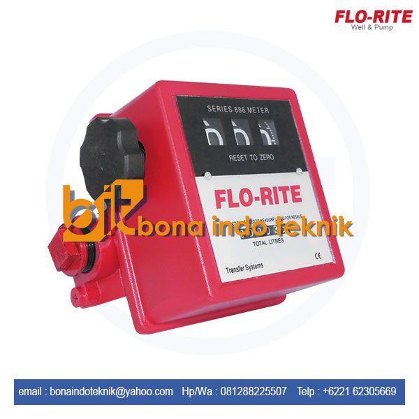 Jual Flo Rite Flow Meter 888L   Flow Meter Flo Rite   Flow Meter Minyak