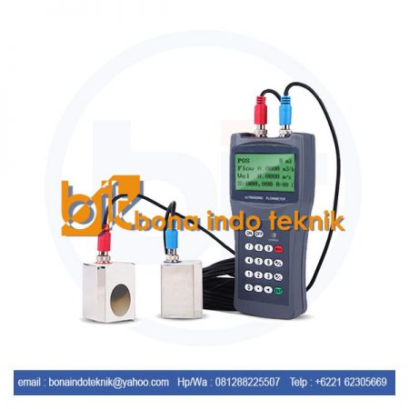 JUAL ULTRASONIC FLOW METER